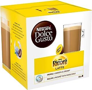 Nescafé Dolce Gusto Ricoré Latte - Café - 96 Capsules (Pack de 6 boîtes x 16)