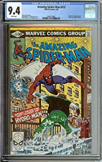 AMAZING SPIDER-MAN #212 CGC 9.4 WHITE PAGES