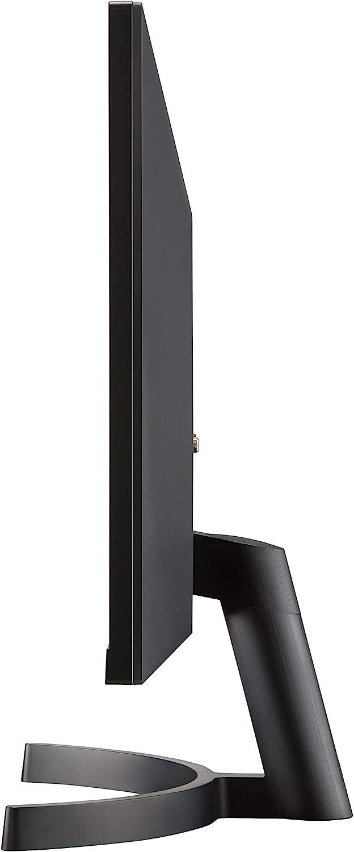 "Black LG 27ML600M-B 27/"" Full HD IPS 3-Side Borderless Monitor with Dual HDMI"