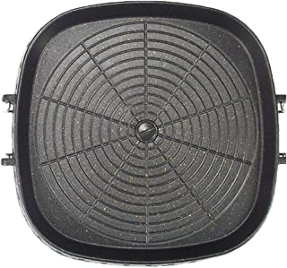 Square Korean-style Maifan Stone Barbecue Pan Non-stick Smokeless Indoor Grill Stovetop Plate