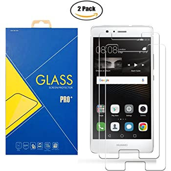 2 Pack] Protector Cristal Vidrio Templado Huawei P9 Lite VNS-L31 ...