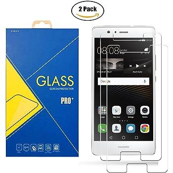 2 Pack] Protector Cristal Vidrio Templado Huawei P9 Lite VNS-L31 ...