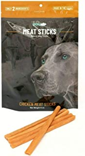 Dog Nip! 6-Inch Gourmet Dog Treat Sticks - Made in USA, 6oz. Resealable Bag, All-Natural Dog Chew Treats, Only 2 Ingredients | Sourced, Processed & Packaged in The USA (Chicken)