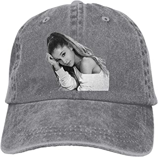 Adult Ariana Grande Logo Classic Dad Hat Adjustable Baseball Caps Snapback