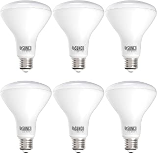 Sunco Lighting 6 Pack BR30 LED Bulb, 11W=65W, 2700K Soft White, 850 LM, E26 Base, Dimmable, Indoor Flood Light for Cans - ...