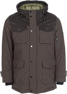 Pendleton Ontario Down Parka w/Waterproof Wool & Premium Fill Power, Olive, Small