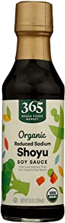 365 by Whole Foods Market, Organic Condiment Sauce, Shoyu Soy (Reduced Soidum), 10 Ounce