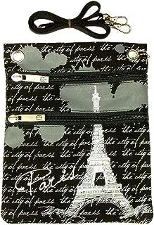 Paris Robin Ruth Passport Bag - Grey