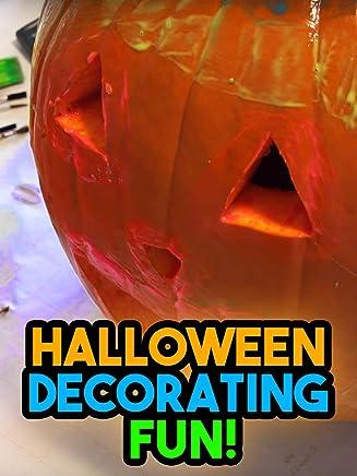 Clip: Halloween Decorating Fun!