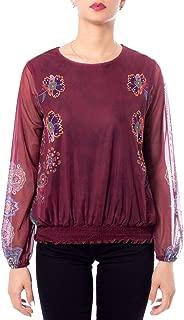 Desigual Luxury Fashion Womens 19WWTKBWPURPLE Purple Jumper | Fall Winter 19
