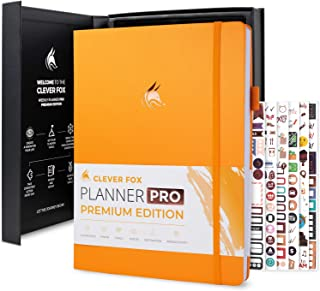 $38 » Sponsored Ad - Clever Fox Planner Pro Premium Edition - Luxurious Weekly & Monthly Planner + Budget Planner Organizer for ...