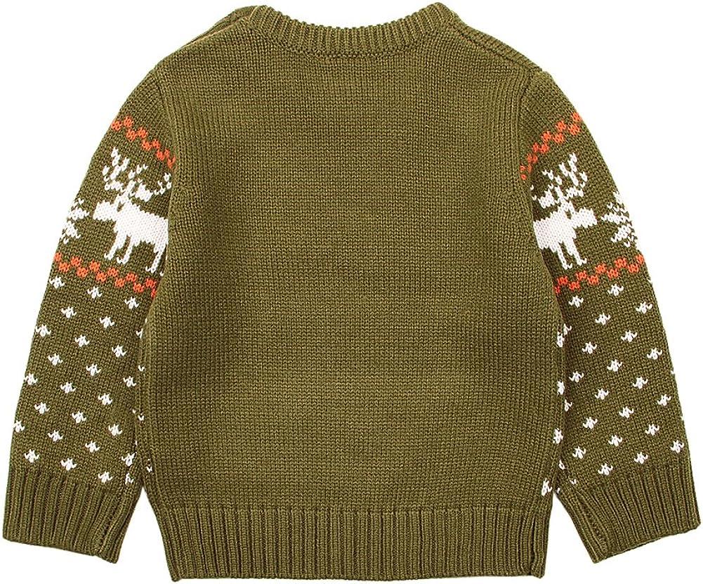 MiMiXiong Baby Knit Sweater Newborn Christmas Jumper
