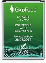 GadFull Batteria compatibile con Samsung Galaxy S4 mini | 2019 Data di produzione | Corrisponde al B500BE originale | Compatibile con Galaxy S4 mini i9190 |Dual SIM i9192|S4 mini LTE i9195