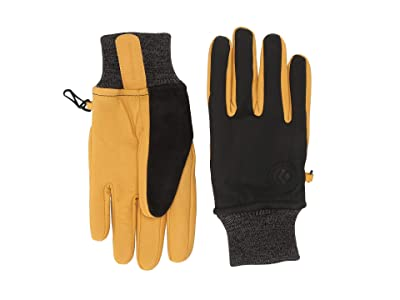 Black Diamond Dirt Bag Gloves (Black) Snowboard Gloves