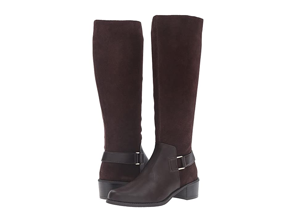 Image of Aerosoles After Hours (Dark Brown Combo) Women's Pull-on Boots