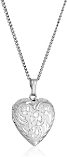 Best heart locket sterling silver Reviews