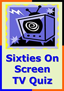 Sixties on Screen TV Picture Quiz for Pub Quiz or Party