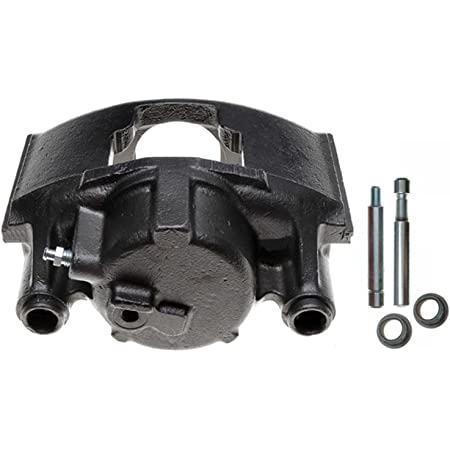 Remanufactured Friction Ready Coated ACDelco 18FR2456C Professional Front Driver Side Disc Brake Caliper Assembly without Pads