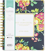 Day Designer for Blue Sky 2018-2019 Academic Year Weekly & Monthly Planner, Hardcover, Twin-Wire Binding, 7