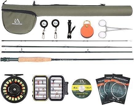 M MAXIMUMCATCH Maxcatch Extreme Graphite Fly Fishing Rod...