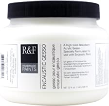 R&F Handmade Paints Encaustic Gesso, Quart