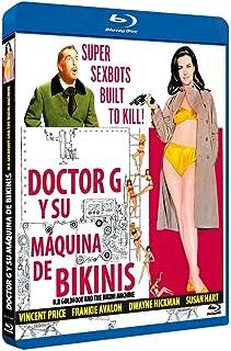 Doctor G y su Máquina de Bikinis BD 1965 Dr. Goldfoot and the Bikini Machine [Blu-ray]