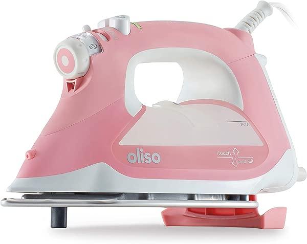 Oliso Pro TG1600 Smart Iron With ITouch Technology 1800 Watts Pink