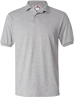 Hanes Mens ComfortBlend EcoSmart Jersey Knit Sport Shirt