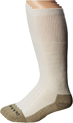 Dan Post Dan Post Work & Outdoor Socks Over the Calf  Mediumweight 4 pack