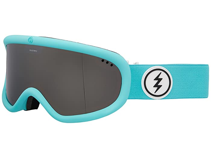 Charger  Shoes (Turquoise Frame/Brose Silver Chrome Lens) Goggles
