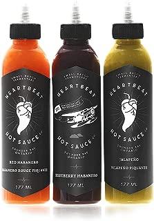 Heartbeat Hot Sauce Mixed Pack (3 bottles)