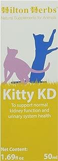 Hilton Herbs Kitty KD Herbal Supplement for Optimum Renal Function in Cats, 1.69 fl oz ( 50 ml ) Bottle
