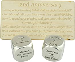 Silver Cufflink Box Included SECOND ANNIVERSARY Gift 2nd COTTON 2 Year Anniversary Gift Grey Leaf Cotton Print Accents 5c3