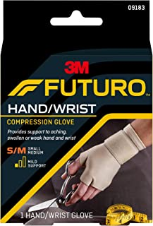FUTURO Energizing Support Glove Hand Mild Support S-M 1 Each ( Pack of 5 )