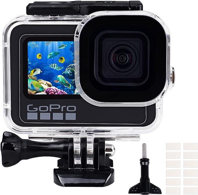 182 opinioni per Custodia impermeabile per GoPro Hero 9/10 Black, 196FT/60M Custodia protettiva