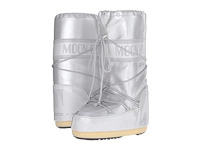 MOON BOOT Moon Boot Vinyl Met (White) Boots