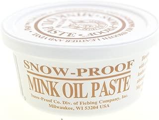 Fiebings Snow-Proof Mink Oil Weatherproofing Paste