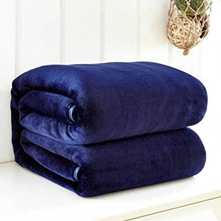 Soft Warm Micro Plush Flannel Blanket Fleece Throw Rug Sofa Couch Cover Bedding