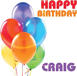 Happy Birthday Craig