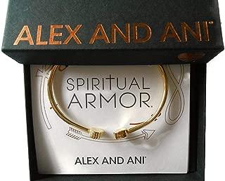 Alex and Ani Calavera Cuff Bracelet 14Kt Gold Plated