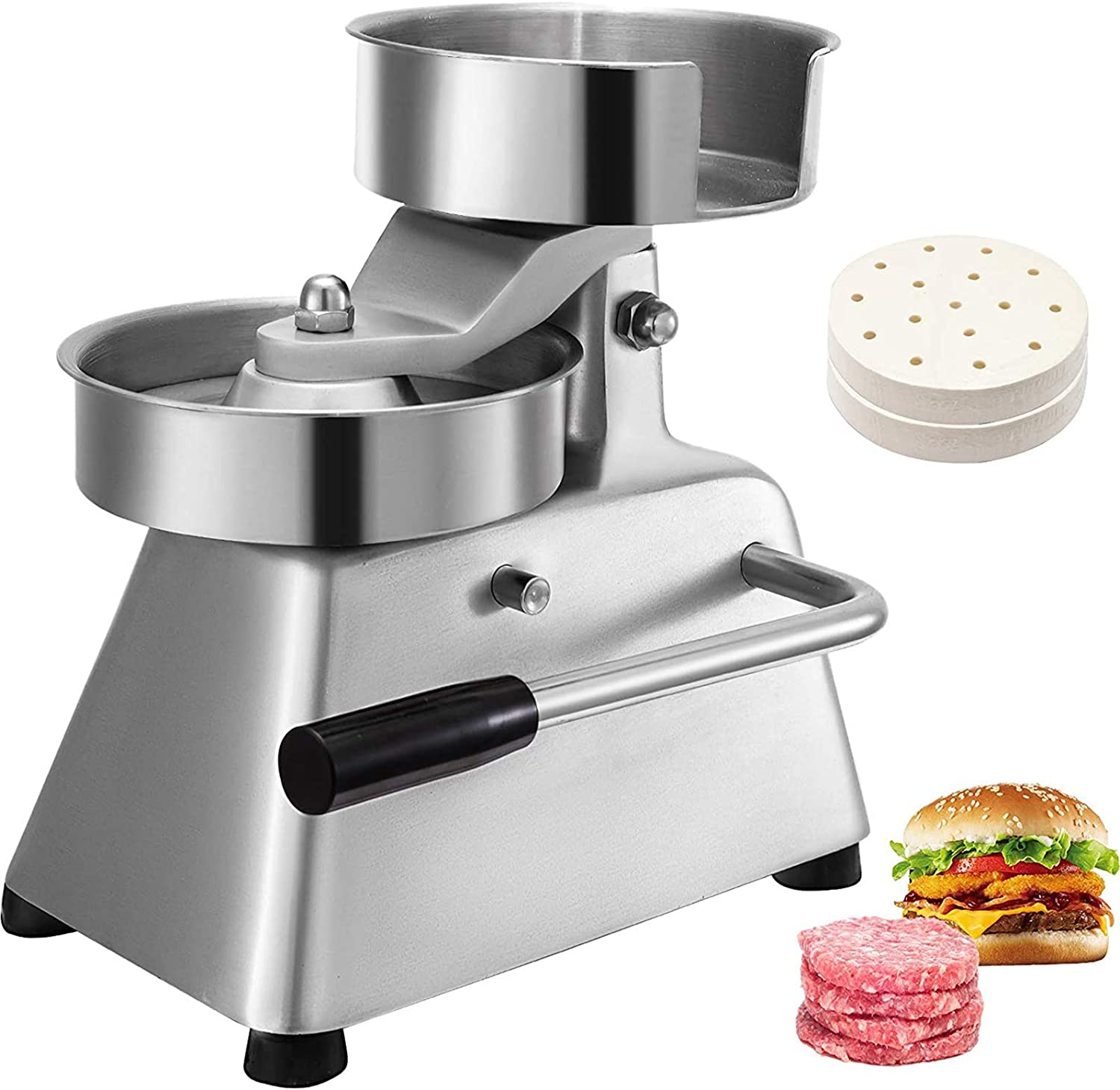 VBENLEM Commercial Hamburger Patty Maker Max 49% OFF 6inch Manufacturer regenerated product 150mm Stainless S