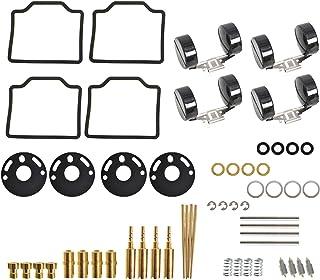WFLNHB 4-Pack Carburetor Carb Repair Rebuild Kits Replacement for Honda CB750 1969-1974, CB750K 1975-1976
