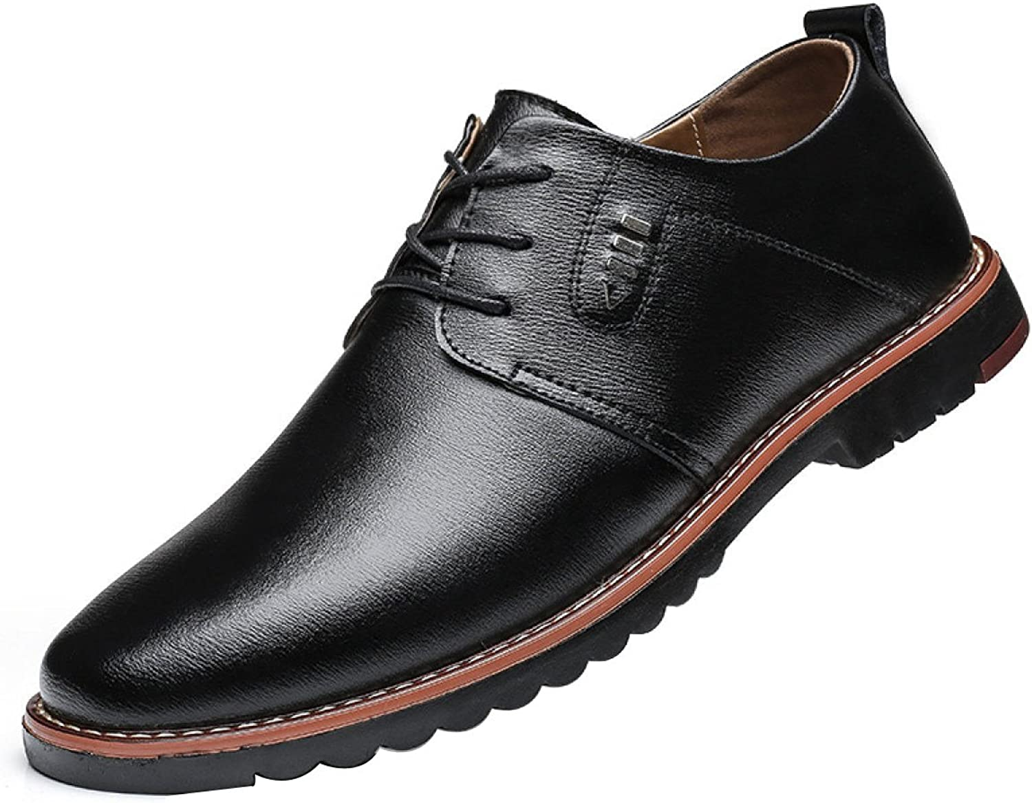 GTYMFH Men's Business Leather Breathable Casual shoes