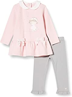 Chicco Baby Girls Completino Abito Manica Lunga + Leggings Suit - Dress Set