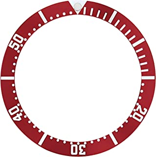 BEZEL INSERT FOR 41MM OMEGA SEAMASTER LONDON OLYMPIC 2012 WATCH RED TOP QUALITY