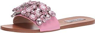 Steve Madden Women's Brionna Heeled Sandal, Pink, 7.5
