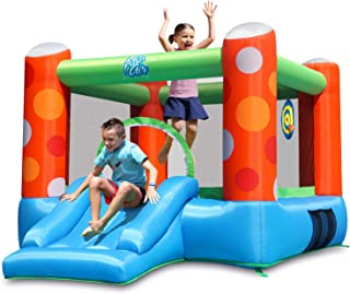 Sponsored Ad - ACTION AIR Bounce House, Inflatable Bounce House with Air Blower, Bouncy Castle with Durable Sewn and Extra...