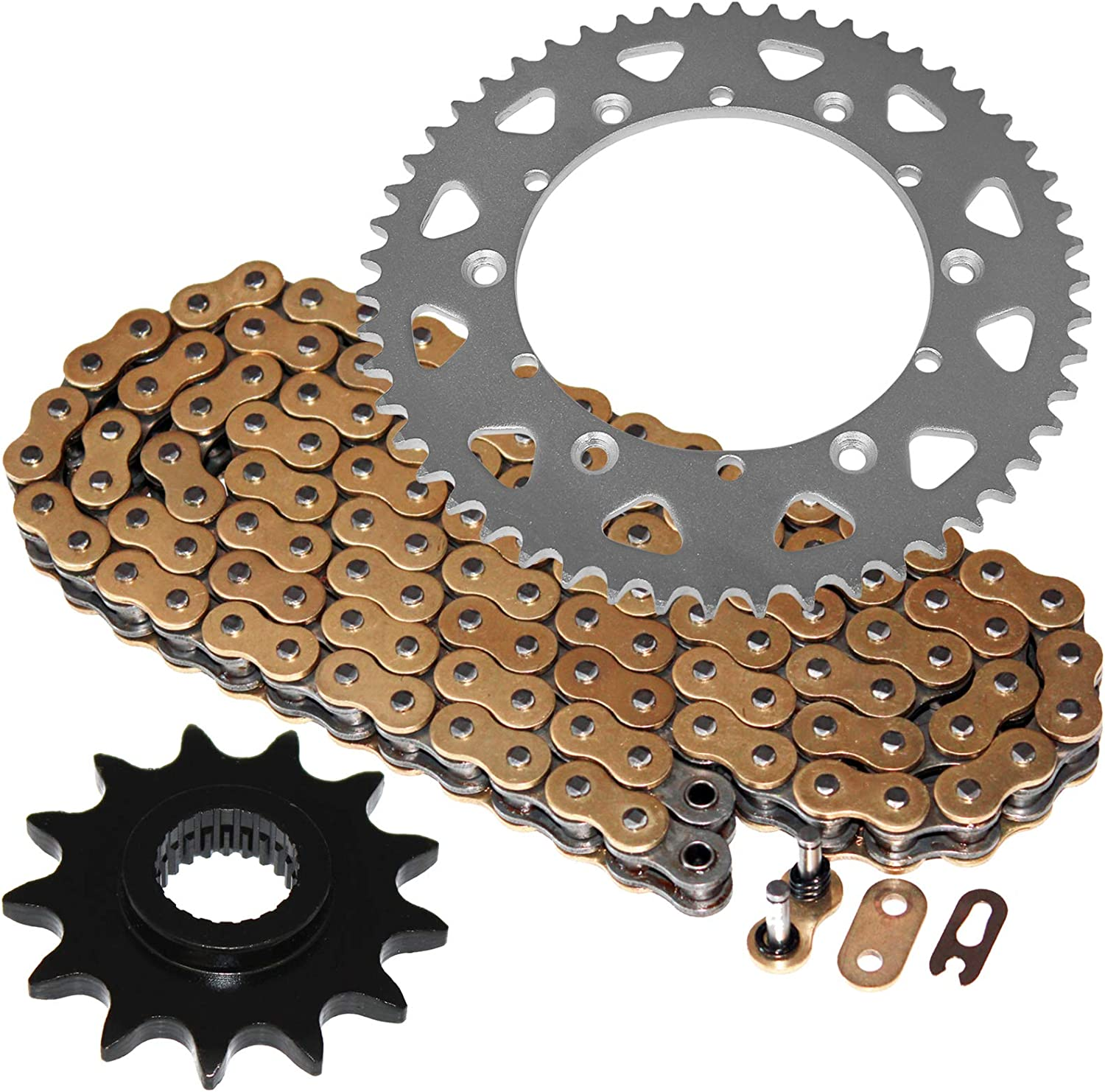 Cheap mail order specialty store Caltric compatible with Gold O-Ring Drive and Ki Bombing free shipping Chain Sprockets
