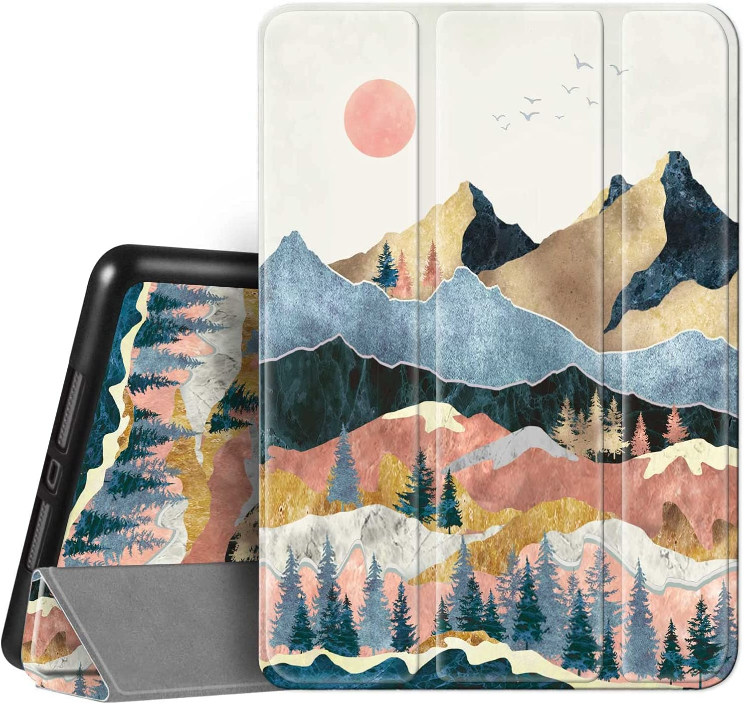 Hepix 5 ☆ very popular iPad 9th Max 52% OFF 8th 7th Landscape 1 Generation Mountain Case