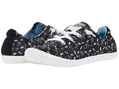BOBS from SKECHERS Beach Bingo Painter Paws (Black Multi) Women
